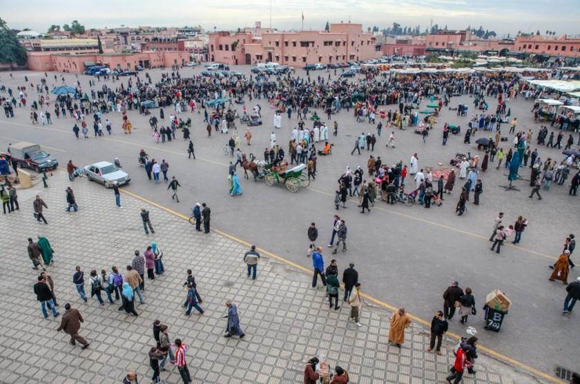 Marokko, Marrakesch djema el fna, Versammlung der Toten, Marktplatz, innerhalb der alten Stadtmauer, Fotograf Frankfurt, photographer, Fotograf