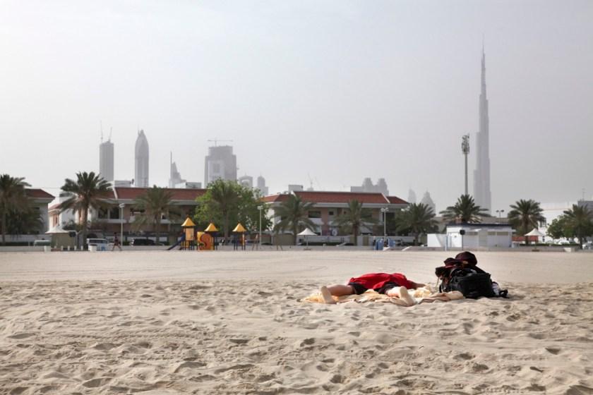 Dubai Strand Zwischenstopp Fotograf Reise-3