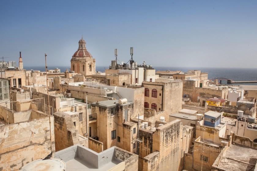 Malta Valletta Fotograf Reise Dach Vogelperspektive-4