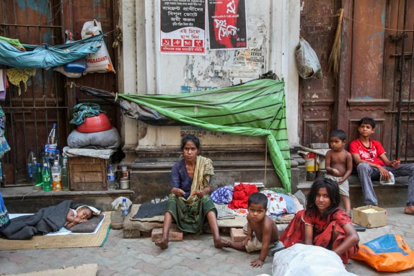indien kalkutta kolkata familie straße kinder leben
