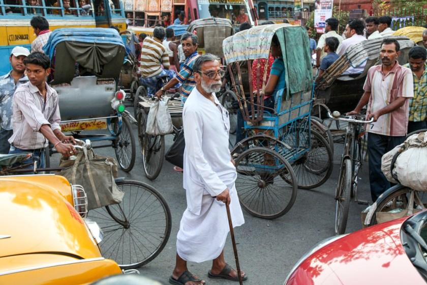 street straße menschen verkehr kolkata kalkutta