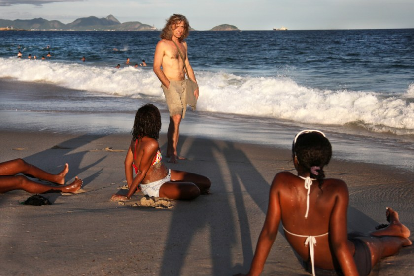 brasilien, Copacabana, Rio de Janeiro, Meer, Strand, Brazil, Fotograf, Barefoot, Barfuß, Barfußlaufen, Wellen
