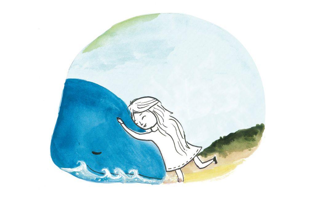Das Haus mit der Herzenstür - Interview mit Autorin Diana Marino, Mavie mit der Delfinmutter by Artemis Wolf