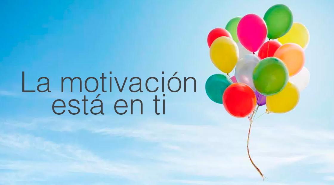 La motivación esta en ti