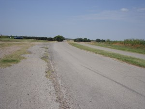 Looking west down Route 66