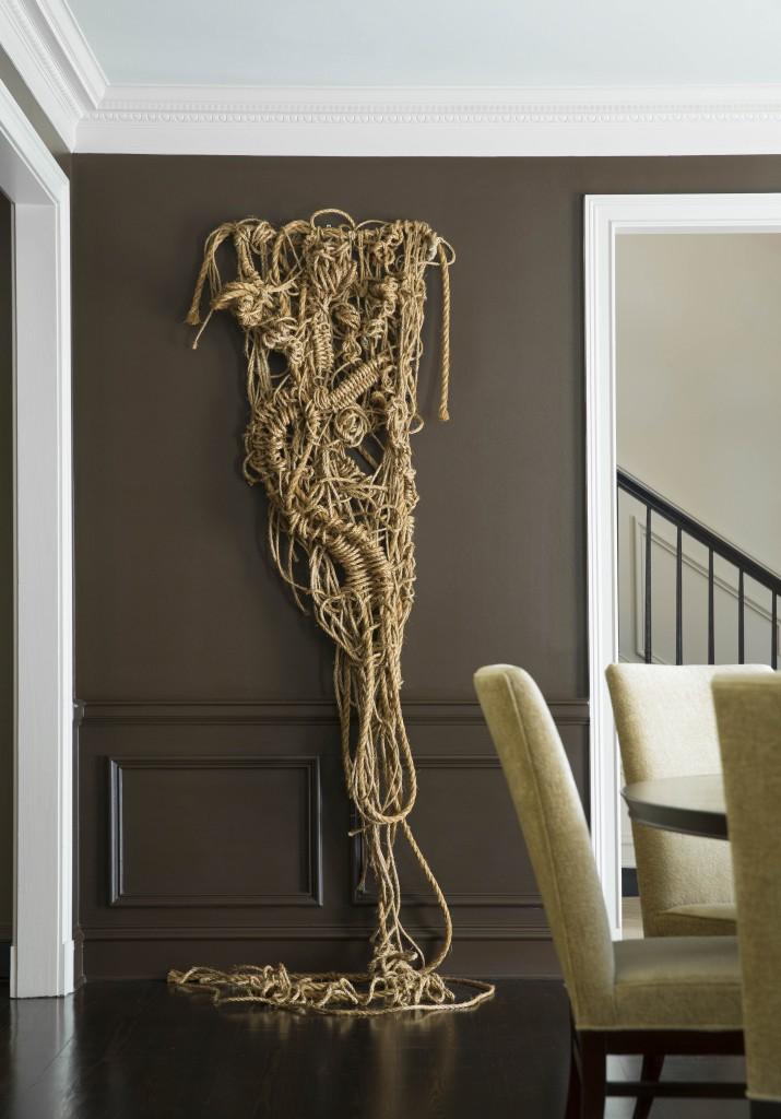 Rope Sculpture Artist  Susan BeallorSnyder