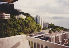 View from Chinese University of Hong Kong, 1995