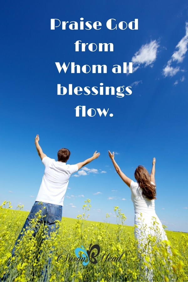 Finding Calm in the Chaos Praise God SusanBMead