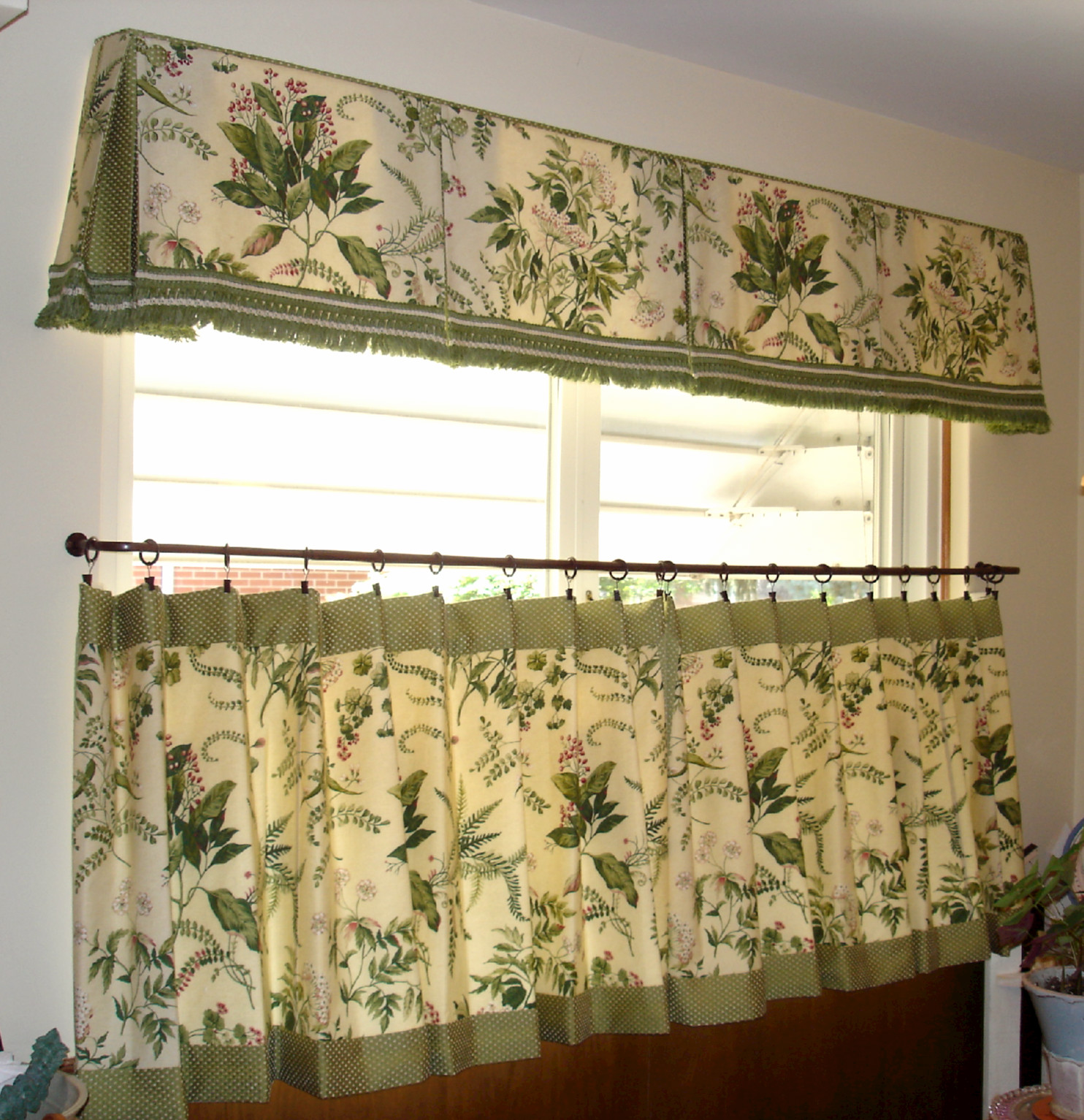cafe curtains for kitchen sink single bowl  susan 39s designs