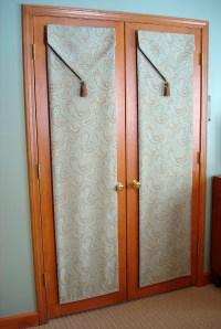 French door privacy.  Susan's Designs