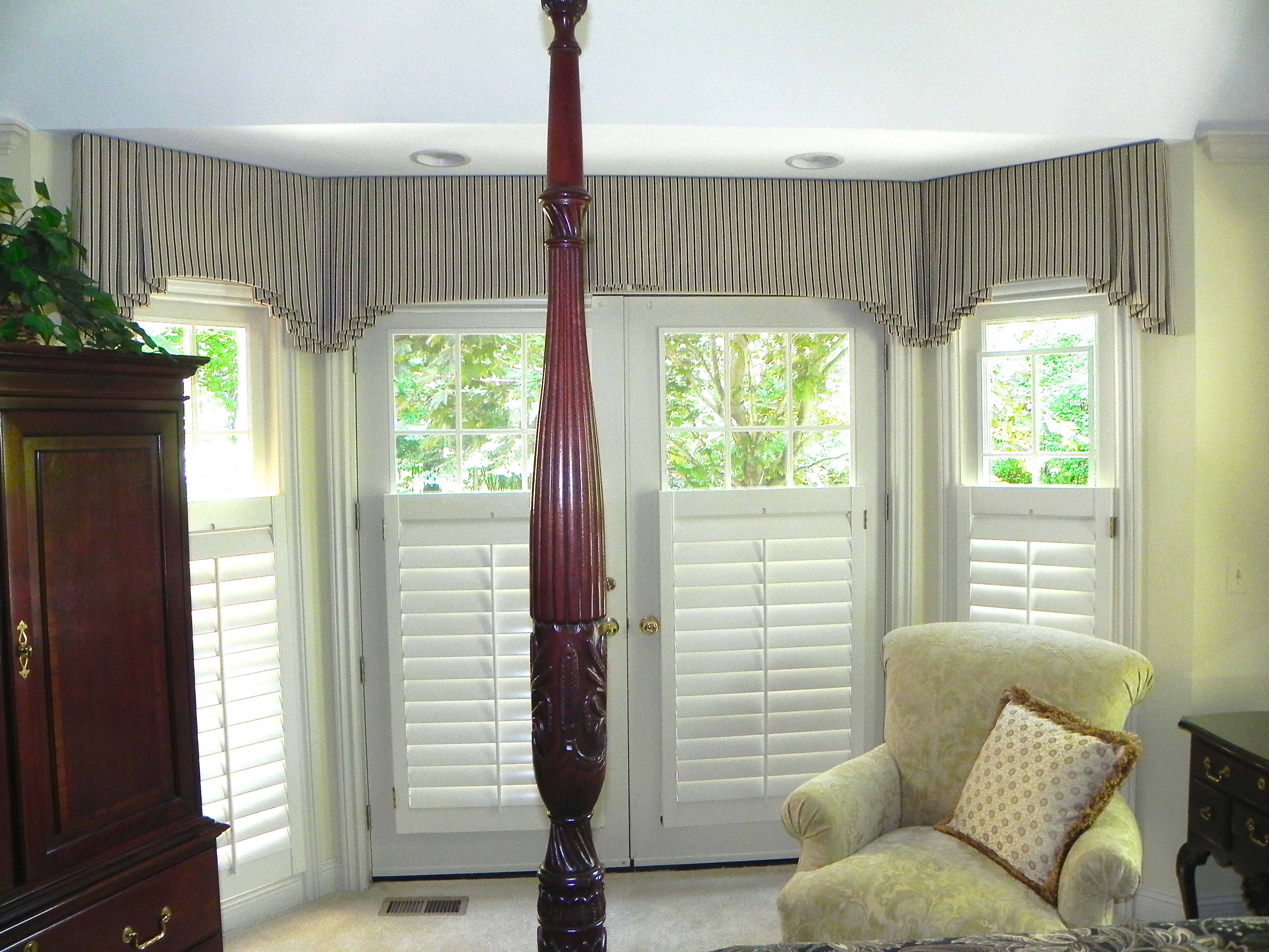 Bay Window Valance Susan S Designs