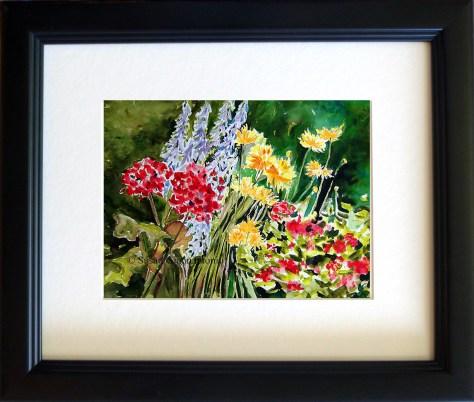 My Garden's Array watercolor