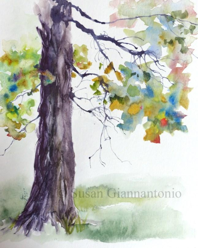 Tree Fantasy sketch