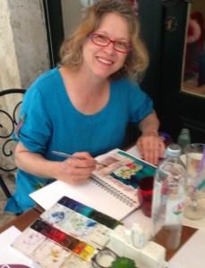 Susan Paints Croatia