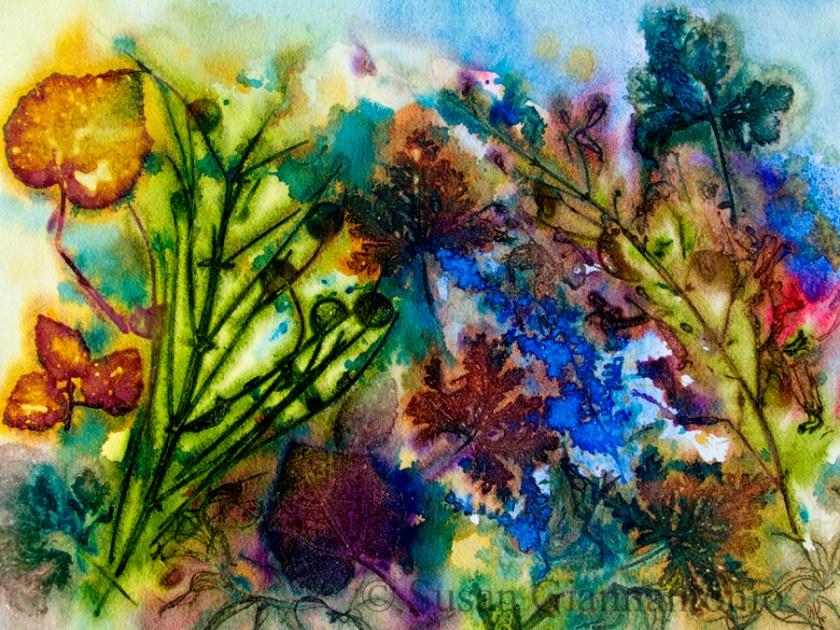 "November Impressions 11 x 15"" transparent watercolor on paper"