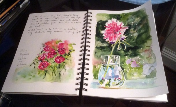 December Studio Classes: Set a Sketchbook Habit!