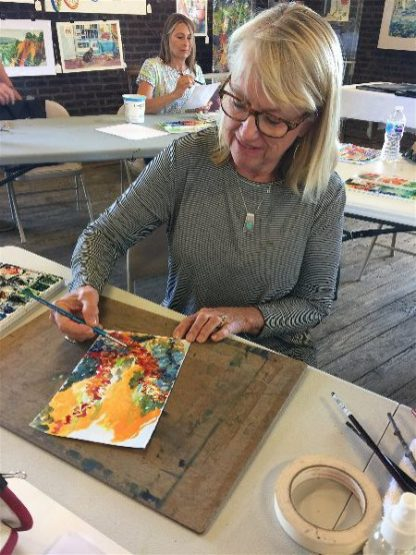 Watercolor Immersion July 6, 2018: Sketching and Mark-Making