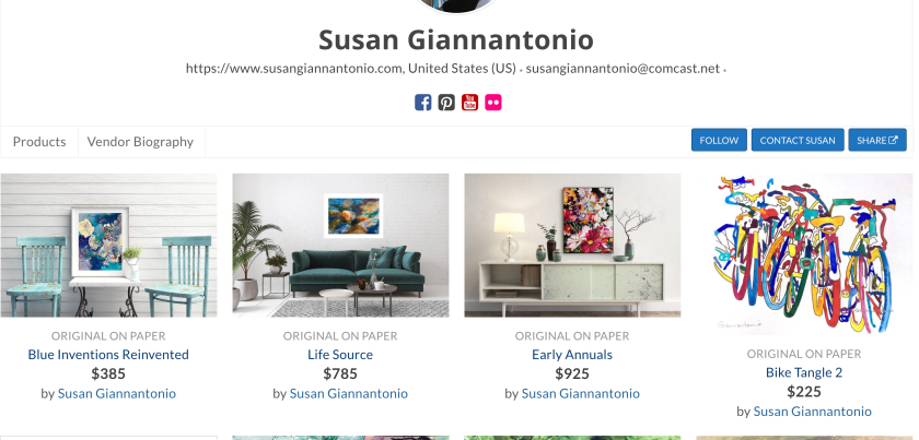 Check out my store at https://watermediagallery.com/store/susangiannantonio/
