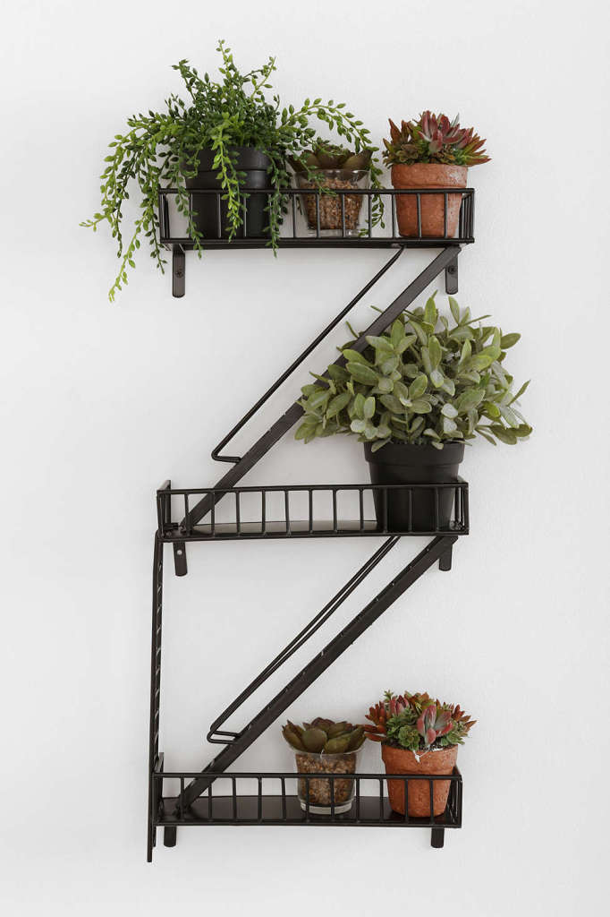 Fire Escape Wall Shelf, Urban Outfitters