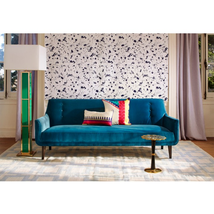 Color feature azure susan hayward interiors interior - Laura ashley barcelona ...