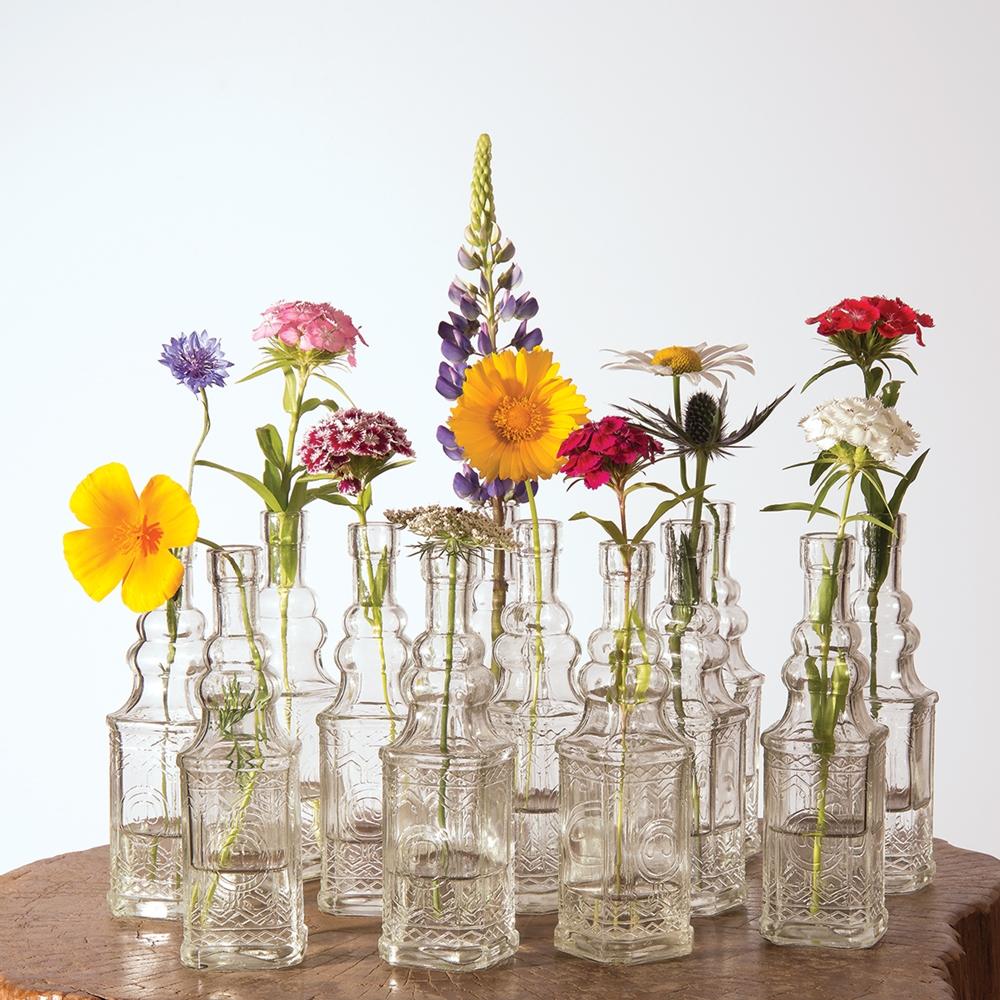 Small Vintage Bottles- Luna Bazaar