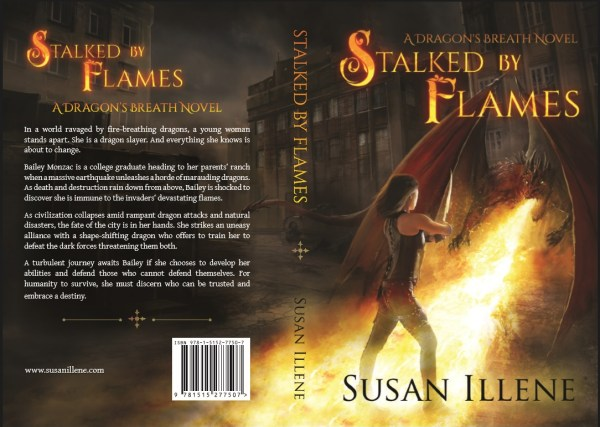 Stalked by Flames paperback cover