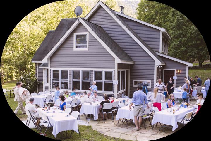 Turtle Mountain in Trust wedding reception