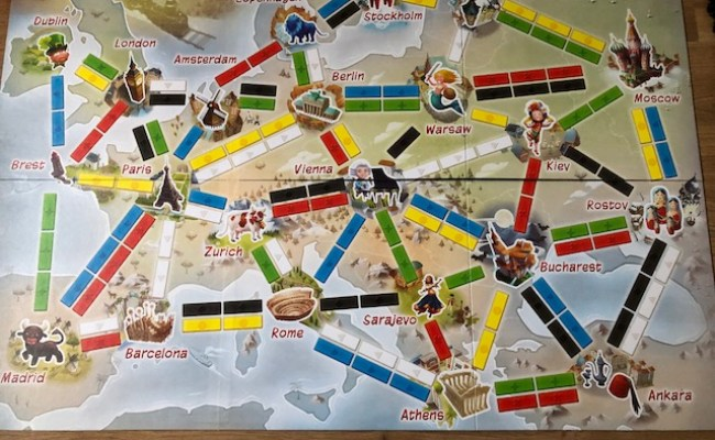 Ticket To Ride And Codename Pictures Board Games Review