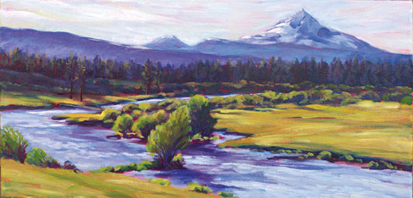 Fine art giclee prints of Cental Oregon landscapes  Susan Luckey Higdon Fine Art