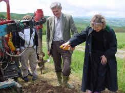 planting the first vine