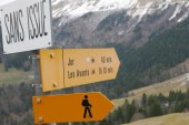 Hiking in the Swiss mountains in the summer will usually lead you to an alpage.