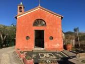 A pretty little chapel we stumbled across on a hike.