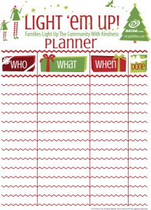 Light em Up Planner