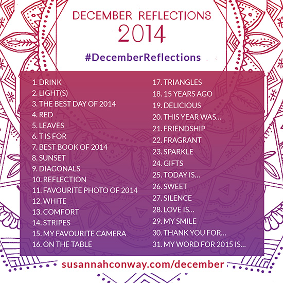 december reflections photo prompts