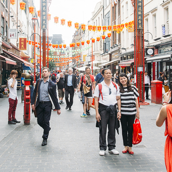 A shot of Chinatown from Londontown by Susannah Conway | SusannahConway.com