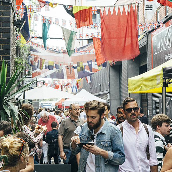 A shot of Maltby Street Market from Londontown by Susannah Conway | SusannahConway.com
