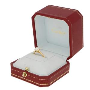 Cartier 1.25ct Solitaire Diamond Engagement ring