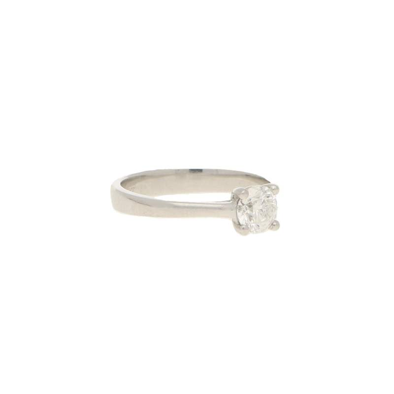 Solitaire Diamond Engagement Ring 0.51 carats