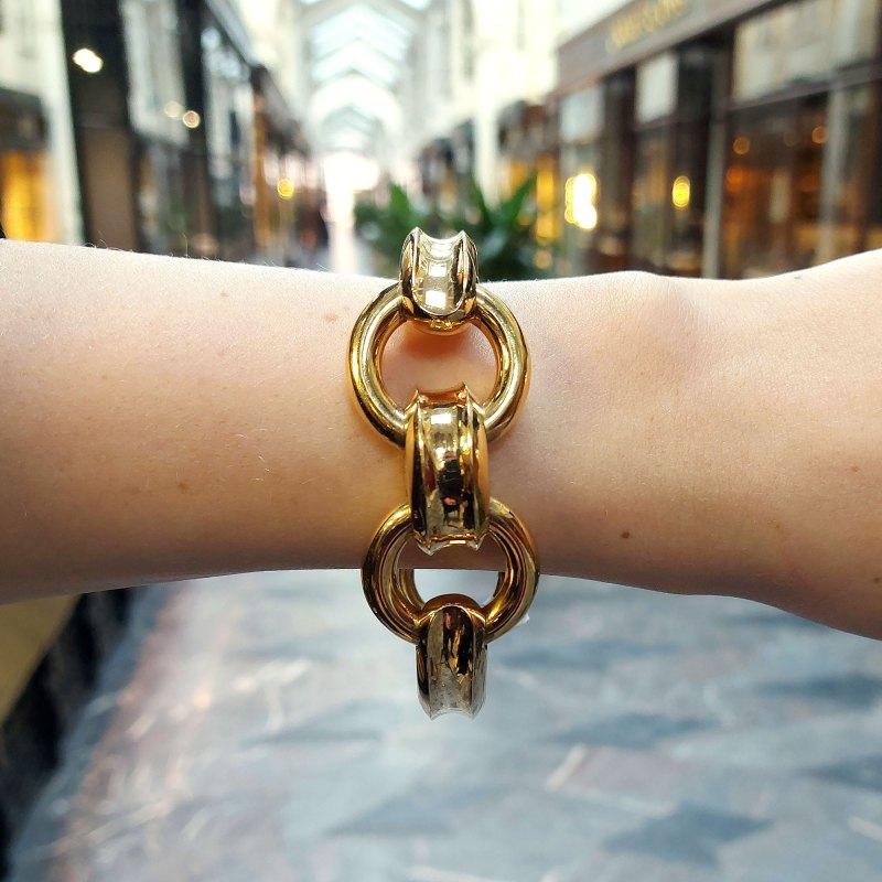 Chunky Bulgari bracelet
