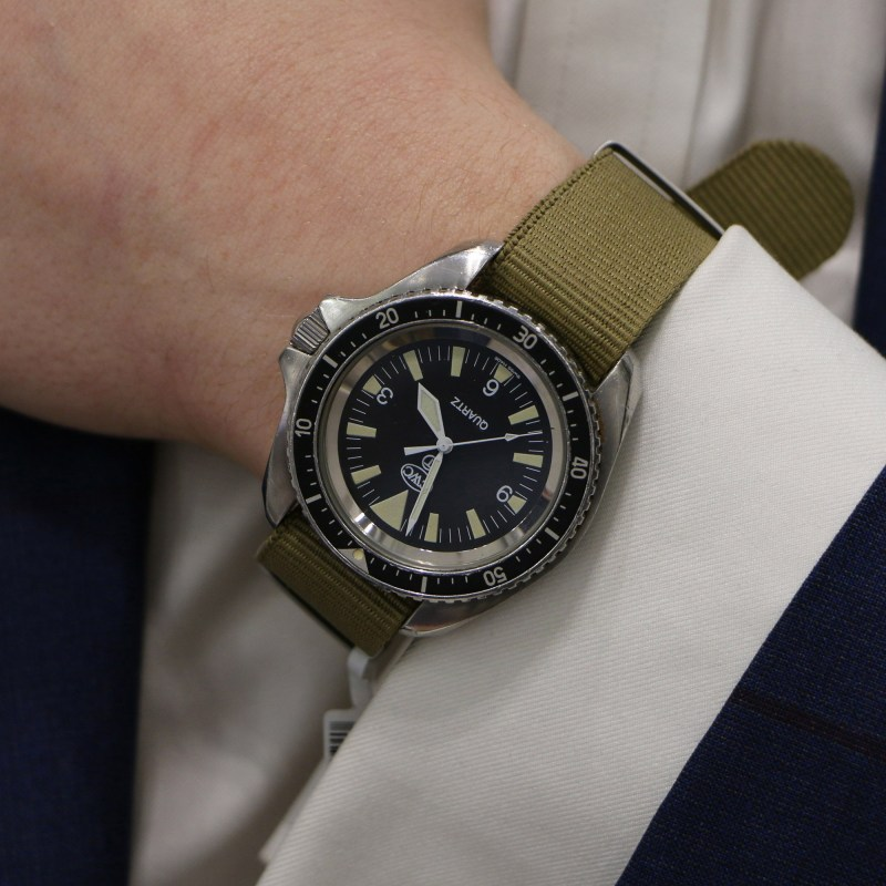 CWC Royal Marines Divers wrist watch