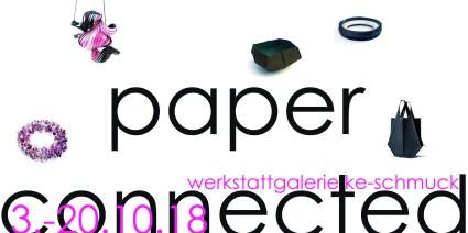 paperconnected Einladung vorne