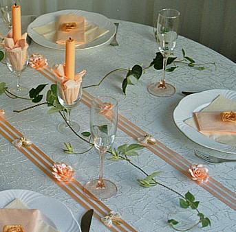 festliche Kreation  Festlichkeit Hochzeitsfeier  Goldene Hochzeit Hochzeitsdekoration