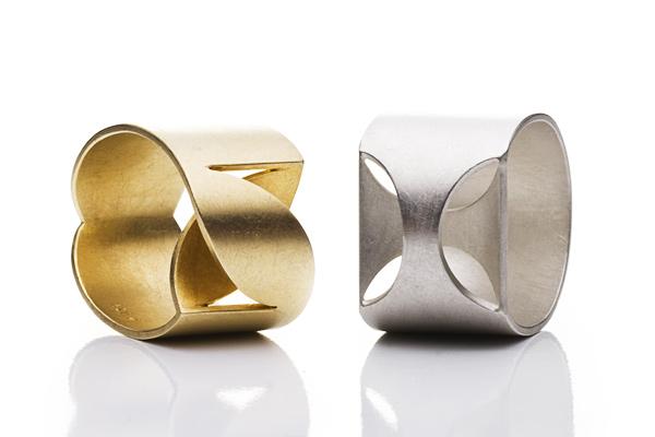 Exklusive Ringe  edler Schmuck aus Gold Silber und