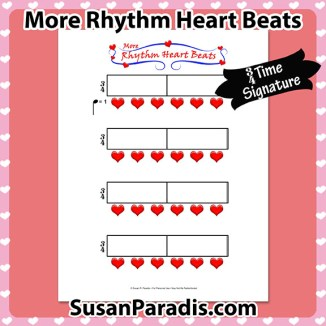 More Rhythm Heart Beats in Three