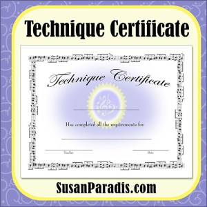 Technique Certificate