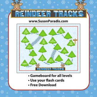 Reindeer Tracks Game