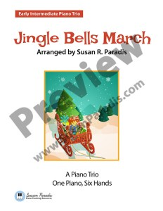 Jingle Bells March Cover Preview