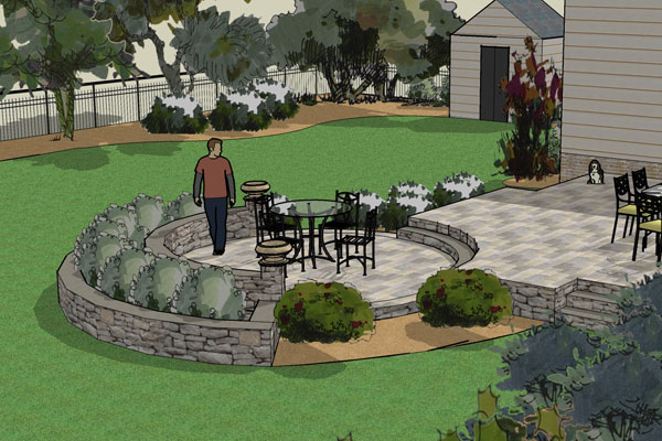 beautiful 3d landscape design