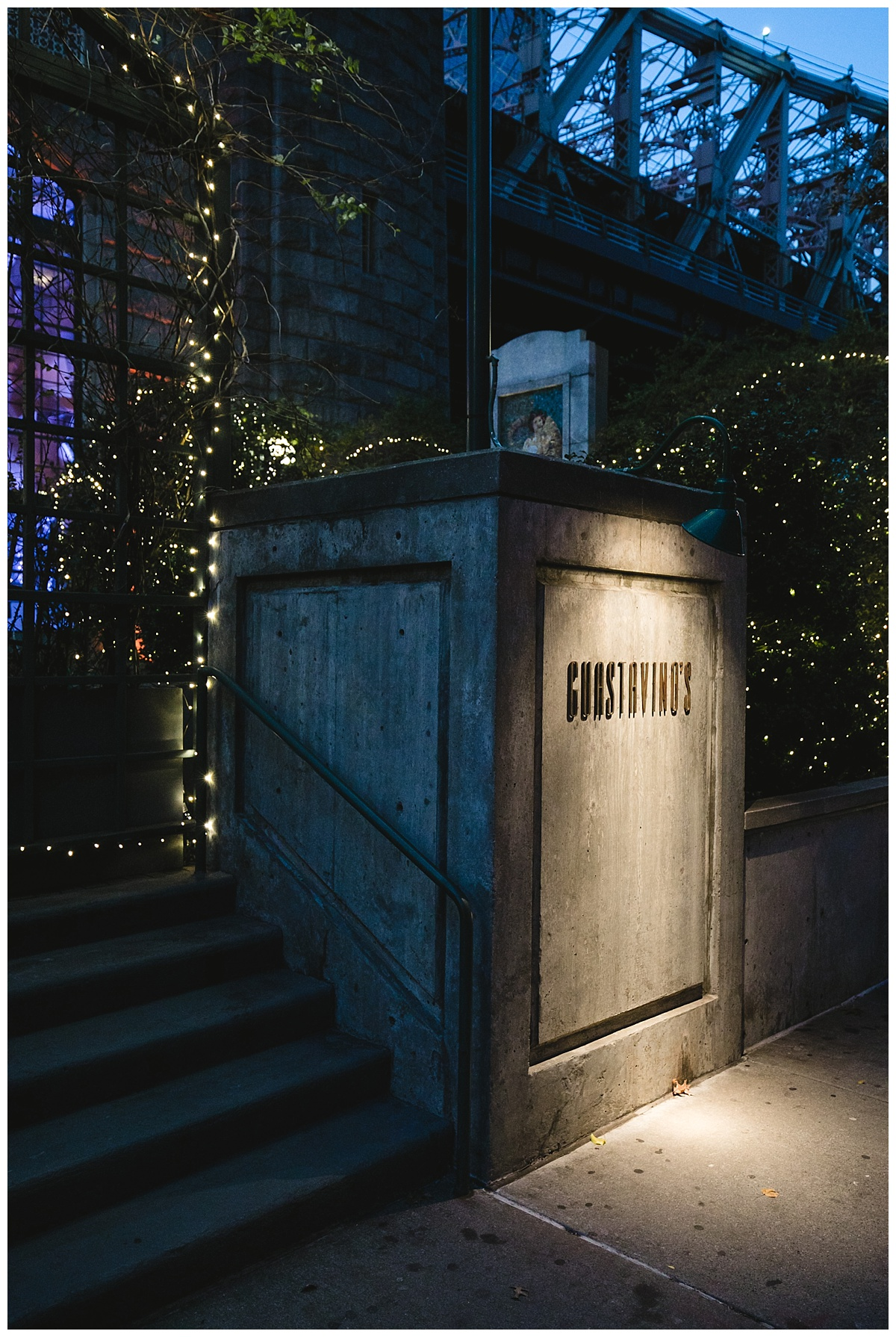 An exterior look of Guastavinos in New York City.