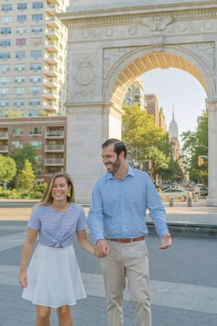 Washington Square Park Engagement Session